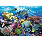 Ravensburger-12608 Jigsaw Puzzle - 200 Pieces - Sea Turtles