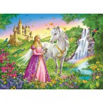 Ravensburger-12613 Jigsaw Puzzle - 200 Pieces - The Princess