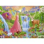 Puzzle  Ravensburger-12624 XXL Pieces - Magic Fairy Charm
