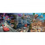 Puzzle  Ravensburger-12645 Disney Cars Panoramic