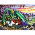 Puzzle  Ravensburger-12655 XXL Pieces - Queen of Dragons