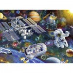 Puzzle  Ravensburger-12692 XXL Pieces - International Space Station