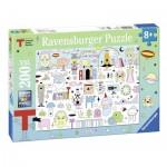 Puzzle  Ravensburger-12702 XXL Pieces - Triennale