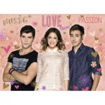 Puzzle  Ravensburger-12706 Violetta - Diego and Leon