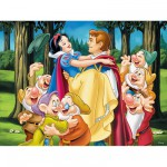 Ravensburger-12715 Jigsaw Puzzle - 200 Pieces - Maxi - Snow White and her Prince