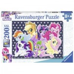 Puzzle  Ravensburger-12719 XXL Pieces - My Little Poney