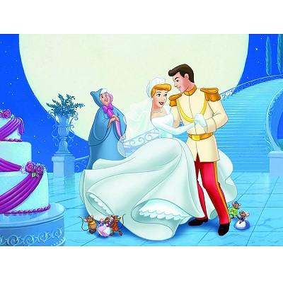 Ravensburger-12735 Jigsaw Puzzle - 200 Pieces - Maxi - Disney : Cinderella