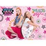 Puzzle  Ravensburger-12742 XXL Pieces - Maggie & Bianca