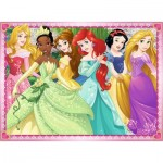 Puzzle  Ravensburger-12745 XXL Pieces - Disney Princess