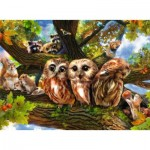 Puzzle  Ravensburger-12746 XXL Pieces - Cute Owls