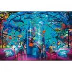 Puzzle  Ravensburger-12758 XXL Pieces - Aquarium