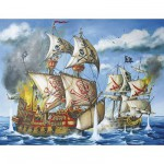 Ravensburger-12771 Jigsaw Puzzle - 200 Pieces - Maxi - Prepare to Board