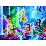 Ravensburger-12777 Jigsaw Puzzle - 200 Pieces - Maxi - Disney Fairies : Wonderland