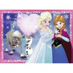 Puzzle  Ravensburger-12826 XXL Pieces - Frozen