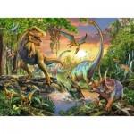 Puzzle  Ravensburger-12829 Dinosaurs