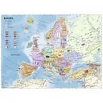 Puzzle  Ravensburger-12837 XXL Pieces - Politische Europakarte