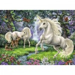 Puzzle  Ravensburger-12838 XXL Pieces - Mysterious Unicorns