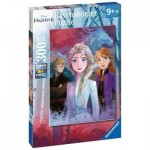 Puzzle  Ravensburger-12866 XXL Pieces - Frozen II