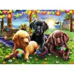 Puzzle  Ravensburger-12886 XXL Pieces - Dog Picnic