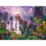 Puzzle  Ravensburger-12892 XXL Pieces - Dinosaurs