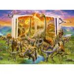 Puzzle  Ravensburger-12905 XXL Pieces - Dino Dictionary