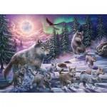 Puzzle  Ravensburger-12908 XXL Pieces - Wolf
