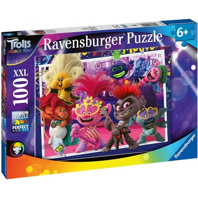 Puzzle Ravensburger-12912 XXL Pieces - Trolls