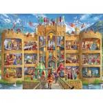 Puzzle  Ravensburger-12919 XXL Pieces - Knight's Castle