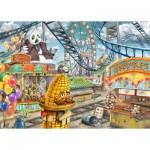Ravensburger-12926 Exit Puzzle Kids - The Amusement Park