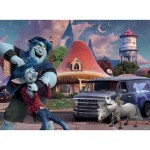 Puzzle  Ravensburger-12928 XXL Pieces - Disney Pixar - Onward