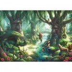 Ravensburger-12955 Exit Puzzle Kids - The Magical Forest