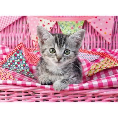 Puzzle Ravensburger-12985 XXL Pieces - Comfortable Cat