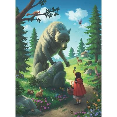 Puzzle Ravensburger-12988 XXL Pieces - Little Red Riding Hood