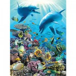Ravensburger-13022 Jigsaw Puzzle - 300 Pieces - Undersea Life