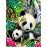 Ravensburger-13065 Jigsaw Puzzle - 300 Pieces - Charming Panda