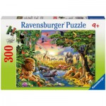 Puzzle  Ravensburger-13073 Evening at a watering place