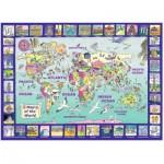 Puzzle  Ravensburger-13190 Looking at the World