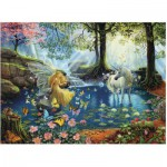 Ravensburger-13206 XXL Jigsaw Puzzle - Mystical Meeting