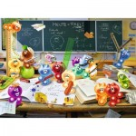 Puzzle  Ravensburger-13211 XXL Pieces - Gelini: Fun in the Classroom