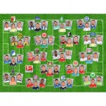 Puzzle  Ravensburger-13212 German Football Liga