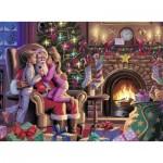 Puzzle  Ravensburger-13217 Santa Claus