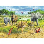 Puzzle  Ravensburger-13219 Africa's Animal