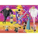 Puzzle  Ravensburger-13220 XXL Pieces - Despicable ME 3