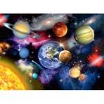 Puzzle  Ravensburger-13226 XXL Pieces - Solar System