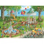 Puzzle  Ravensburger-13229 XXL Pieces - Pet Park