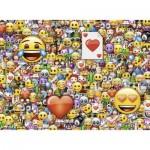 Puzzle  Ravensburger-13240 XXL Pieces - Emoji