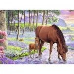 Puzzle  Ravensburger-13242 XXL Pieces - Wild Beauty