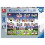 Puzzle  Ravensburger-13251 XXL Pieces - Bundesliga