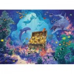 Puzzle  Ravensburger-13255 XXL Pieces - Deep Sea Treasure