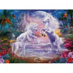 Puzzle  Ravensburger-13256 XXL Pieces - The Paradise of the Unicorns